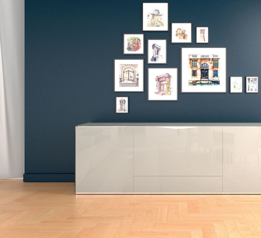 Three Doors Sideboard – MODELS H 80